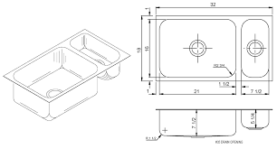 double bowl kitchen sink cool kitchen sinks dimensions
