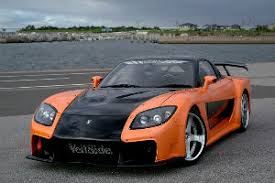 mazda rx7 fast and furious. 9398 mazda rx7 fd3s fortune model complete kit rx7 fast and furious i