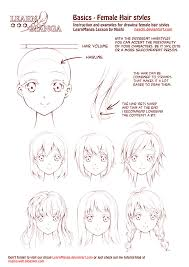 Hair Style Anime learn manga female hair styles by naschi on deviantart 3617 by wearticles.com