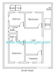 house plan for south facing plot with two bedrooms elegant cool 800 sq ft house plans
