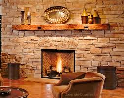 reclaimed wood fireplace mantel illinois wisconsin