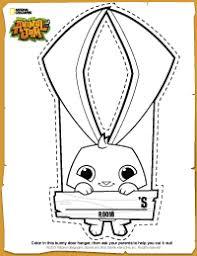 Small Picture Animal Jam DIY Bunny Door Hanger Animal Jam Pinterest Animal