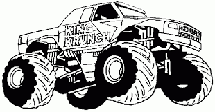 Monster Truck Coloring Page 14 Coloring Pictures Monster Truck Print