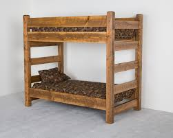 Mexican Rustic Bedroom Furniture Log Furniture Beds Amish Pine Extra High Bed The Rustic Bunk