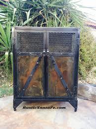 Industrial Bar Cabinet Vintage Industrial Style Liquor Cabinet Reclaimed Urban Steel