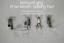 Free-Motion Quilting Feet Guide | Sew Mama Sew & Free-Motion Quilting Feet Guide. While the options for sewing machine ... Adamdwight.com