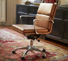 tufted leather office chair vintage google search