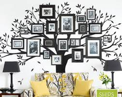 Small Picture Family tree wall decal Etsy
