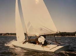 Boat was built in 1977. North American M Scow Association Posts Facebook
