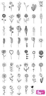 Inspirierte Blumen Beispiele Scrapbook Inspirace How To Draw