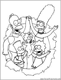 Coloriage Les Simpson Halloween A Imprimer L L L L L L L