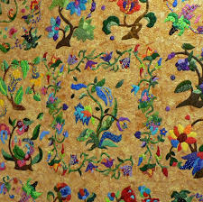 10 best Jacobean applique images on Pinterest | Jacobean ... & I am making this at a quilt shop in McKinney, Texas, but I'm usingone of  Pat Campbells ' Bird of Paradise patterns for the middle block Adamdwight.com