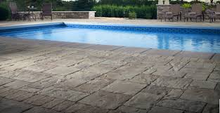 pool deck pavers turn any pool into an enticing