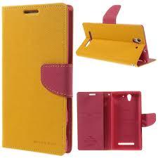 Sony Xperia C3 Yellow Goospery Fancy ...