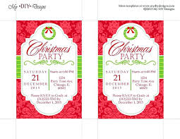 Party Invitation Template Word Plus Free Holiday Party Invitation