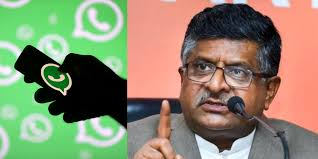 Image result for whatsapp ravi shankar prasad