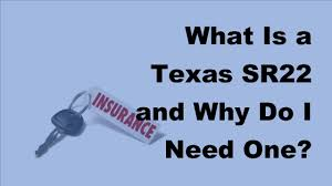 2017 car insurance policy what is a texas sr22 and why do i need one