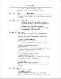 Sales Associate Resume Template Sales Representative Skills Resume