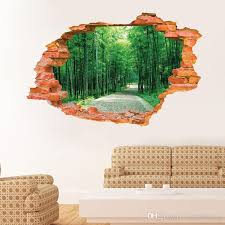 2016 large wall sticker tree forest