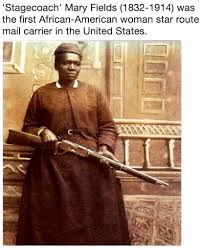Stagecoach' Mary Fields (1832-1914) was the first African-American woman  star route mail carrier in the United States.   Name a Badder Bitch Than  Taylor Swift   Know Your Meme