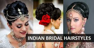 10 indian bridal hairstyles for weddings tail and reception