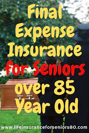 Banner life's final expense policies provide a death benefit of up to $15,000 for people ages 50 to 80, which may be enough to cover some funeral costs. Final Expense Insurance For Seniors Over 85 Year Old Final Expense Insurance Final Expense Life Insurance For Seniors