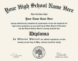 High School Deploma High School Diploma Design 1 For Any School Diploma Press