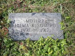 Hilma Somero (Moilanen) (1891 - 1917) - Genealogy
