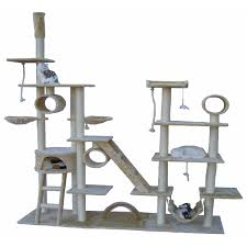 cool cat tree furniture. go pet club huge gym cat tree condo house furniture overstock shopping cool