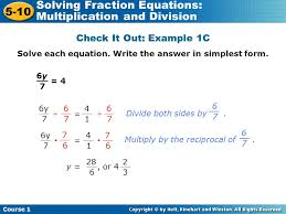 11 solve each equation