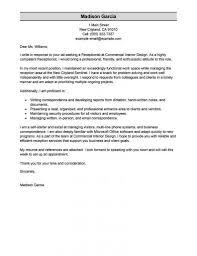 Resume Cover Letter For Medical Receptionist Best Inspiration For