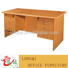 office table with drawers. Hot Sale Modern Nice Design MDF Double Side Drawer Office Computer Desk Bedroom Study Writing Table With Drawers O