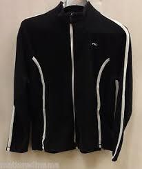 Details About Kjus Womens Bay Fleece Jacket Ls25 708 Black White Size 44 2xl