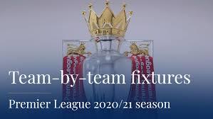 premier league 2020 21 team by team