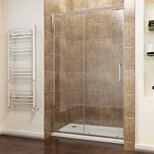 exquisite sliding shower doors in elegant screen cubicle 8mm easy clean