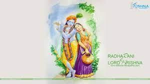 Radha Krishna Painting Wallpaper ...