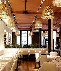 pendant lighting for restaurants. Hanging Pendant Light Restaurant Interior Lighting Design Fig Olive New York For Restaurants
