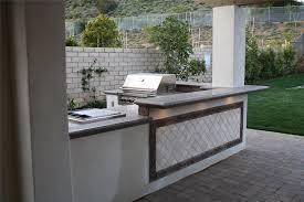 outdoor concrete countertops outdoor kitchen the green scene sworth ca