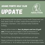 Adams Pointe Golf Club - Home