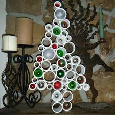 PVC Christmas Tree - Modern and Unique | craftymountainmama - Seasonal on  ArtFire