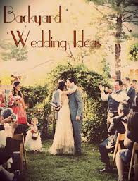 Tips For A Backyard Wedding Love This Pin And The Backyard Backyard Fall Wedding