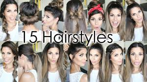 What Hair Style Should I Get 15 back to school heatless hairstyles youtube 7263 by wearticles.com