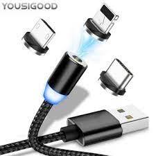 LED Manyetik Kablosu Için Mikro Usb Tipi C Hızlı IPhone Için şarj Kablosu X  7 6 5 5 S SE 1 M 2A Mıknatıs şarj Cavo Chargeur Kabel Cep Telefonu  Aksesuarları - Unitsgear.news