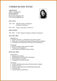 How To Make Resume For A Job How Make Resume For First Job To Write Good Template Cv Teaching 16