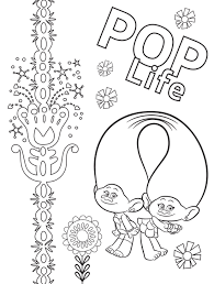 Looking for more printable coloring pages? Free Printable Trolls World Tour Party Pack With Activity Coloring Pages