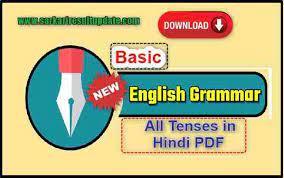 all tenses in hindi pdf free