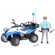 Игрушка Bruder Полицейский квадроцикл + фигурка ... - ROZETKA