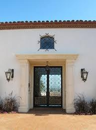 mediterranean outdoor lighting. Santa Barbara Spanish Architectural Entry Mediterranean With Iron Exterior Lighting Outdoor