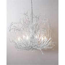 white hickory branch chandelier designs