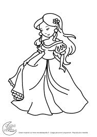 Coloriage Princesse Et La Grenouille Faon Coloriage Print It Le